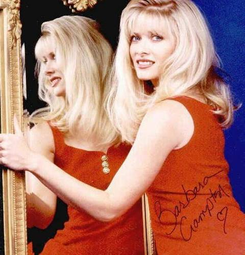 The Young And The Restless kertas dinding possibly with attractiveness and a portrait called Leanna Love-Barbara Crampton
