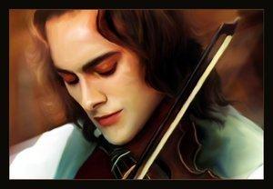 Lestat playing the violin