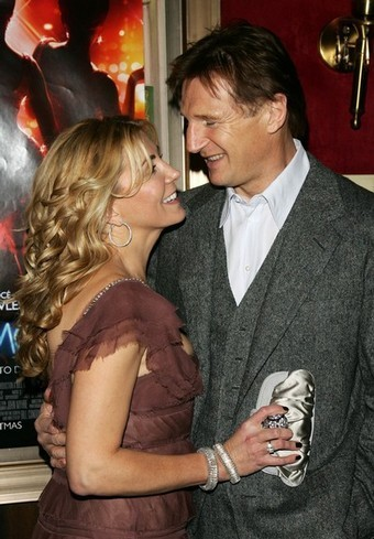 Liam Neeson and Natasha Richardson