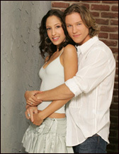 The Young And The Restless kertas dinding called Lily Winters & Daniel Romalotti