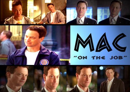 Mac - On the job
