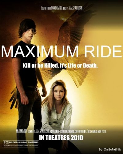 Maximum Ride wallpaper probably containing a portrait and anime entitled MaxRide Movie Poster