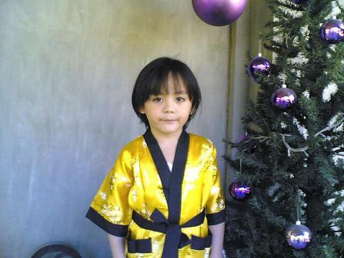 Me in ninja suit