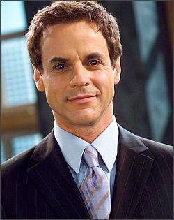 The Young And The Restless kertas dinding with a business suit, a suit, and a double breasted suit titled Michael Baldwin-Christian LeBlanc