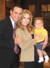 Michael & Lauren with their son Fen