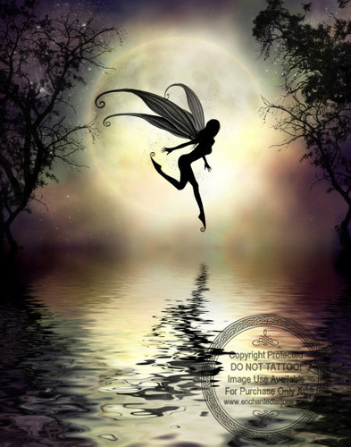 Moonlit Waters by Julie Fain - fairies Photo