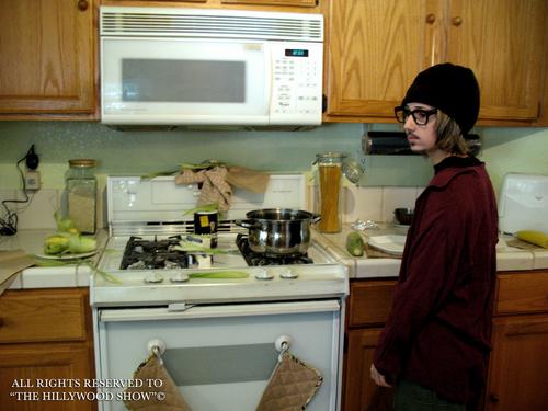 Mort Rainey's cooking show