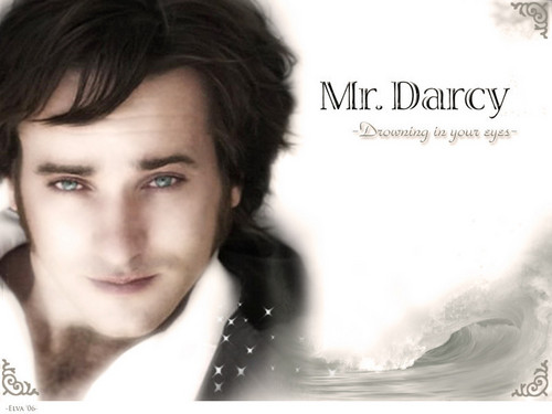Pride and Prejudice wallpaper with a portrait titled Mr. Darcy