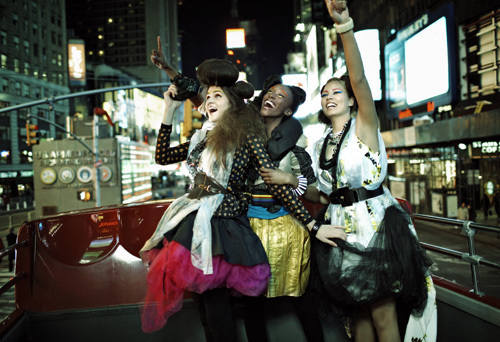 Natalie/Teyona/Tahlia - Tourists in Times Square