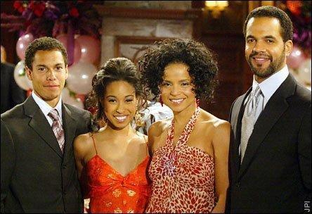 ... with their children, Lily & Devon - the-young-and-the-restless Photo