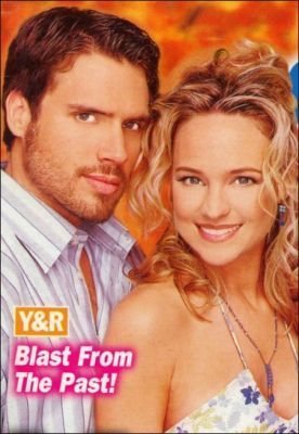 The Young And The Restless kertas dinding containing a portrait entitled Nick & Sharon Newman