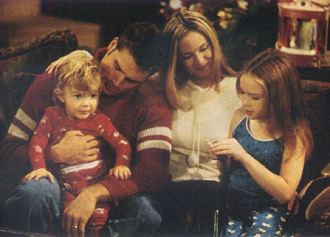 Nick & Sharon with their children, Noah & Cassie when they were little