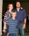 Nick with his children Noah & the late Cassie