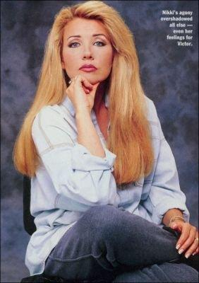 The Young and the Restless wallpaper containing a well dressed person and a portrait called Nikki Newman-Melody Scott