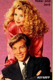 The Young And The Restless kertas dinding probably containing Anime and a portrait called Nikki Reed & Jack Abbott