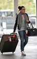 Nikki Reed @ Vancouver Airport - twilight-series photo