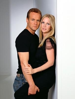 The Young and the Restless wallpaper with a portrait called Paul Williams & Christine Blair