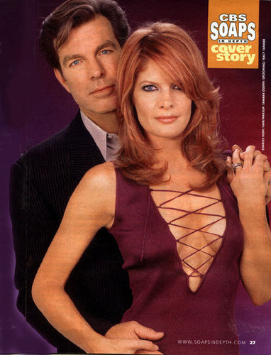 The Young and the Restless achtergrond containing a leotard and tights entitled Phyllis & Jack