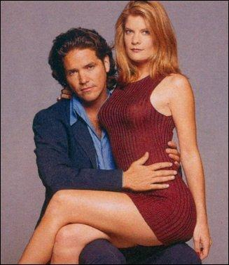 The Young And The Restless kertas dinding with a leotard, tights, and a maillot entitled Phyllis Summers & Danny Romalotti