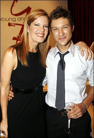 Phyllis & her son Daniel