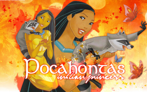 Classic Disney hình nền possibly containing anime entitled Pocahontas