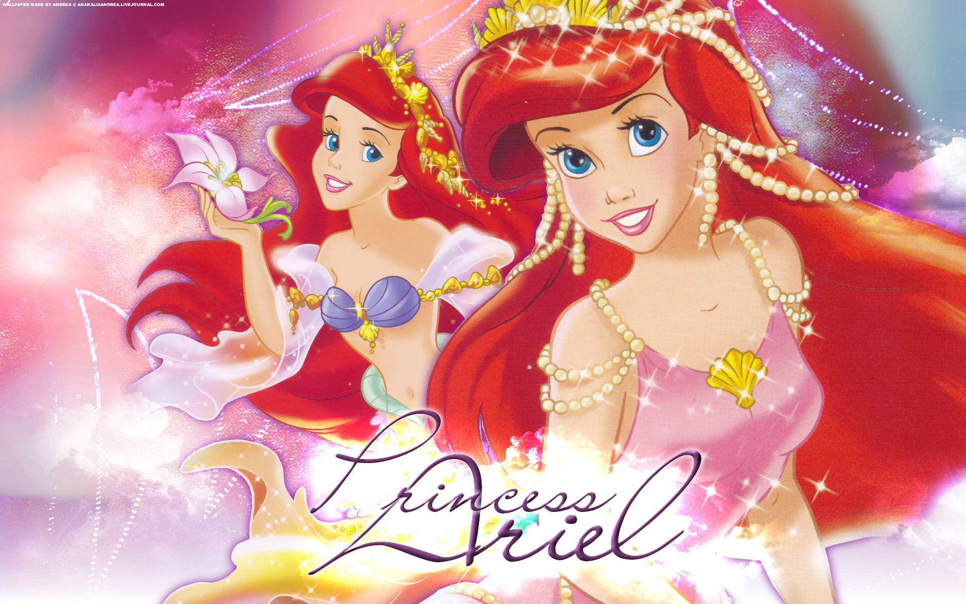 princess ariel classic disney wallpaper 4918019 fanpop