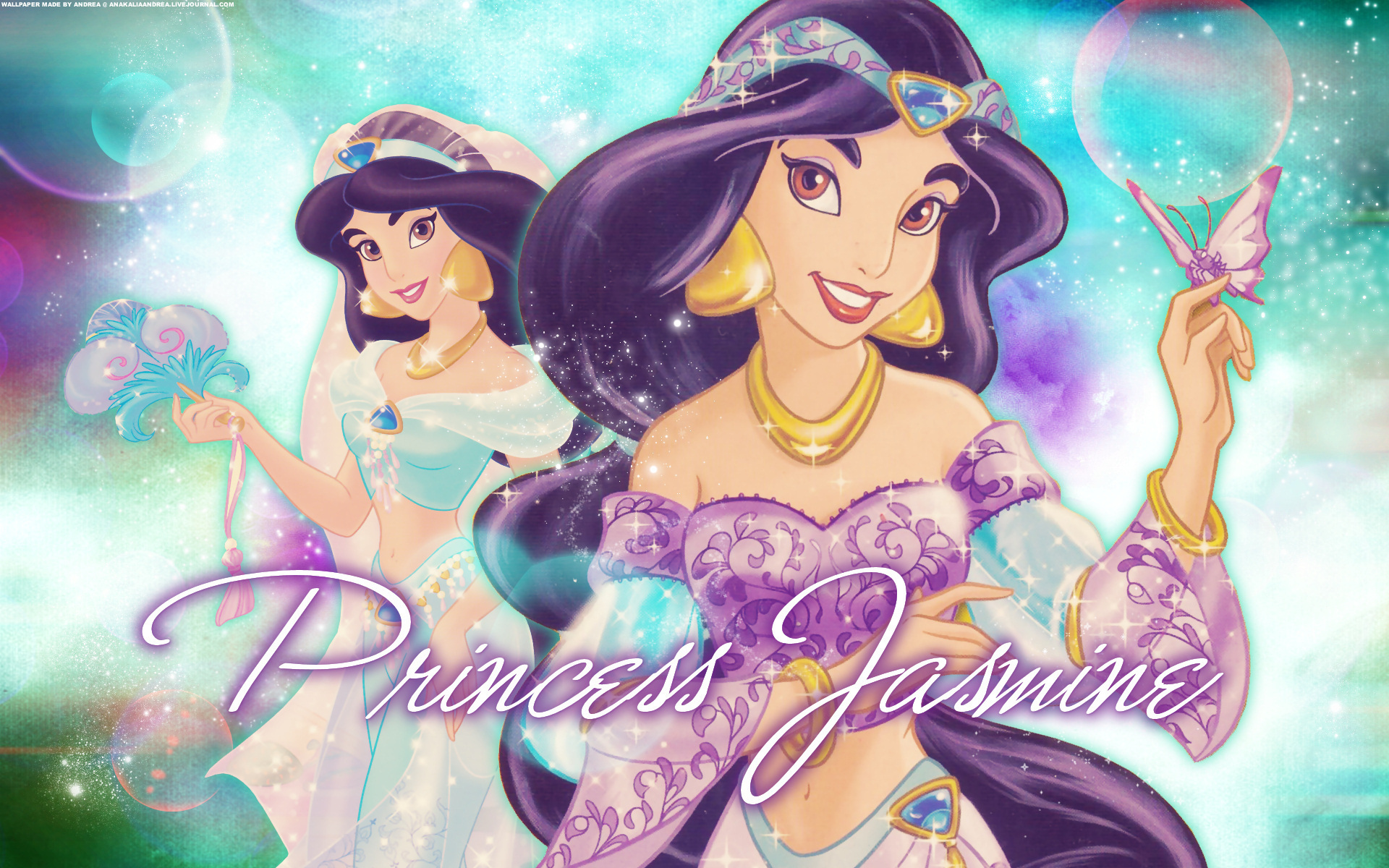 Princess Jasmine Cartoon Classic Disney
