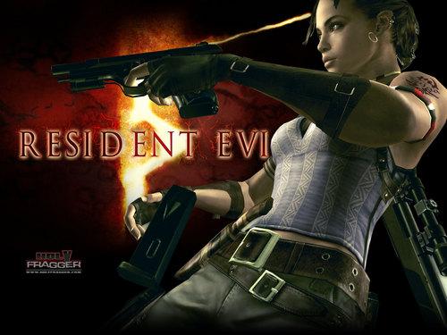 Resident Evil % kertas dinding