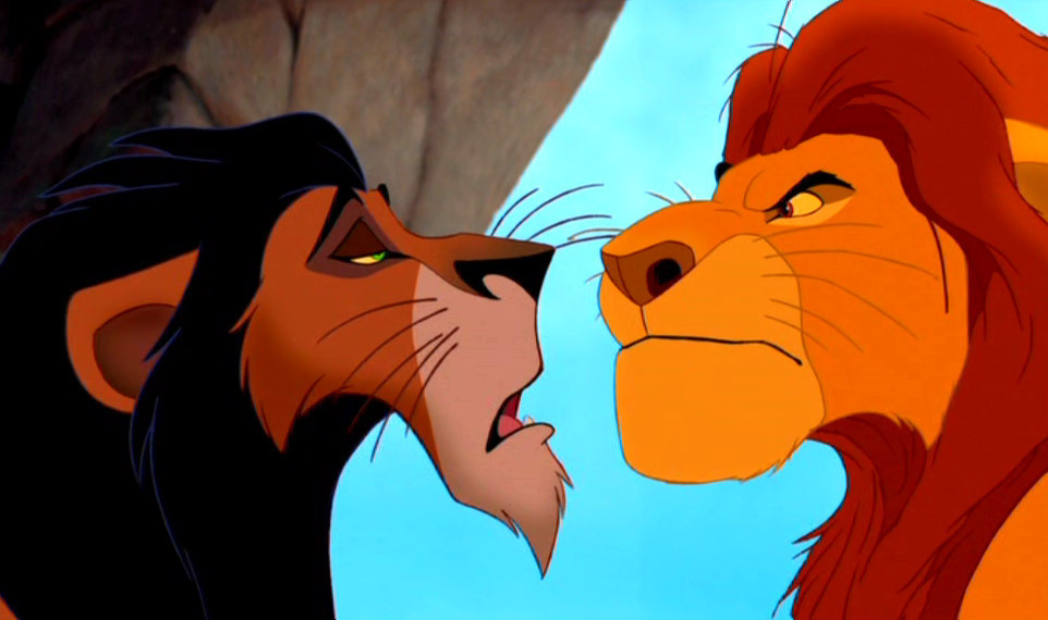 The lion king mufasa and scar - photo#4