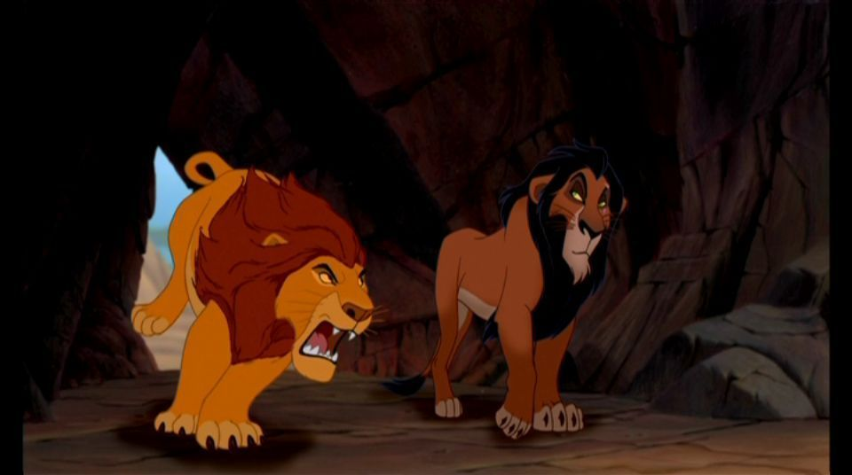 Lion King Scar And Mufasa Dibbly Fresh: M...