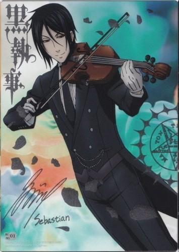Sebastian + Violin