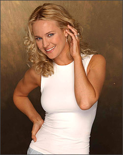 The Young and the Restless wallpaper probably containing bare legs, a leotard, and tights entitled Sharon Abbott-Sharon Case