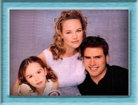Sharon & Nick & their daughter Cassie when she was a little girl