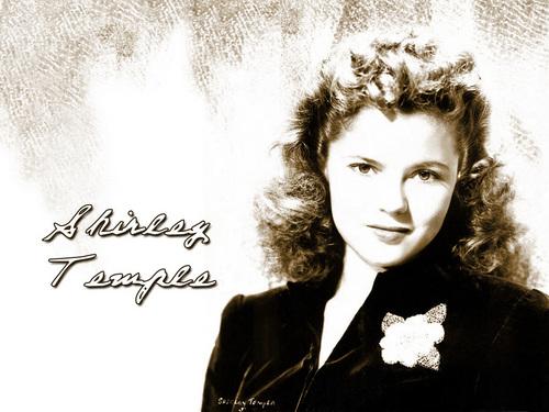 Shirley Temple वॉलपेपर