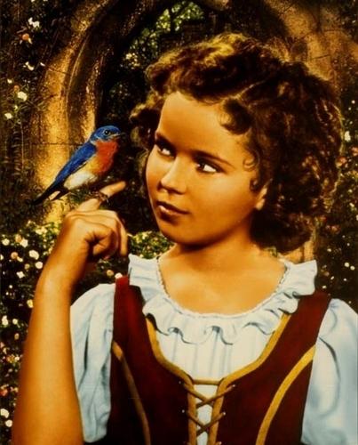 Shirley in The Blue Bird