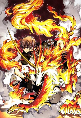 Tsubasa: Reservoir Chronicles wallpaper possibly with anime called Syaoran and Rayearth