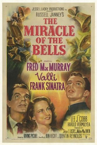 Frank Sinatra wallpaper with anime titled The Miracle of the Bells Movie Poster