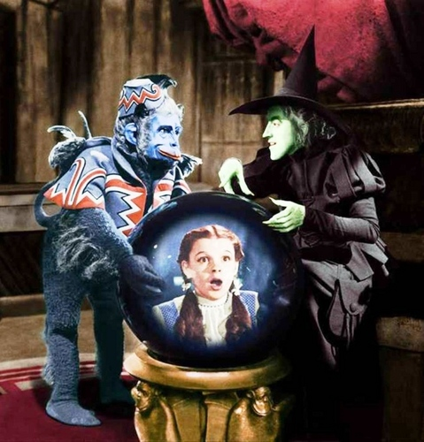 The Wizard of Oz wallpaper titled The Wicked Witch and Nikko
