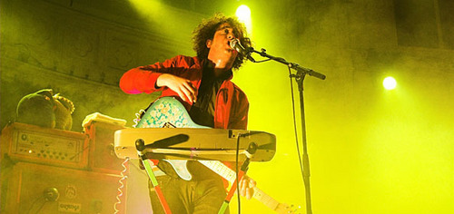 The Wombats Performing
