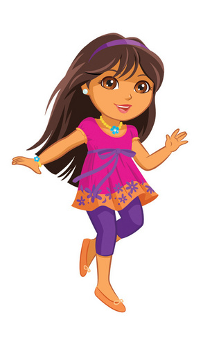 Dora the Explorer wallpaper called Tween Dora Revealed!