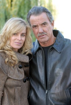 Victor Newman & Ashley Abbott