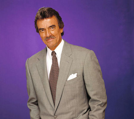 The Young and the Restless karatasi la kupamba ukuta containing a business suit, a suit, and a double breasted suit titled Victor Newman-Eric Braeden