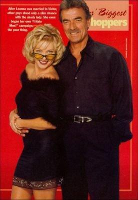 Victor Newman & Leanna Amore