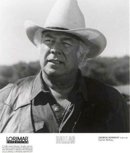 Victor's dad played door George Kennedy