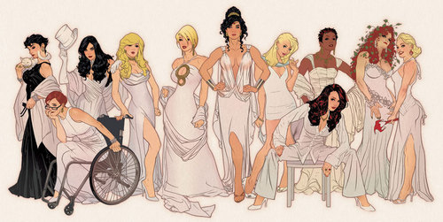 Femme Fatales wallpaper titled Women of DC comics