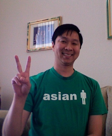 johnminh celebrates his Asian and Irish heritage