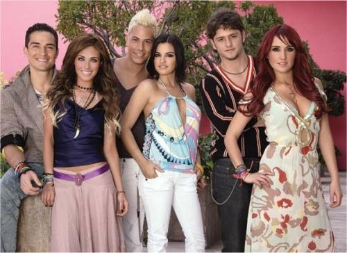 rbd por siempre - rbd-band photo