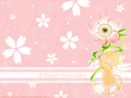 A flower from Kero - cardcaptor-sakura wallpaper