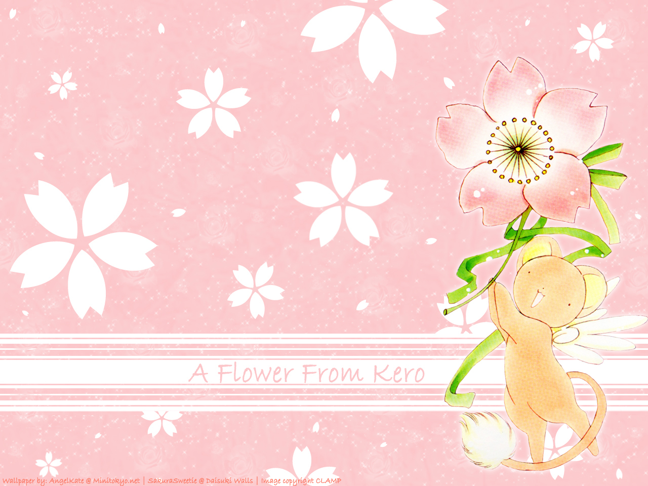 Cardcaptor Sakura Images A Flower From Kero Hd Wallpaper And