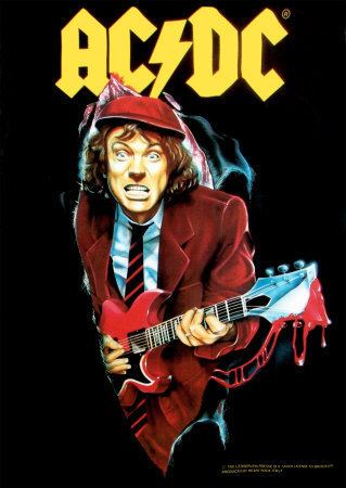 Angus Young wallpaper entitled Angus!